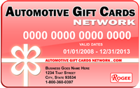 Automotive Gift Cards Network