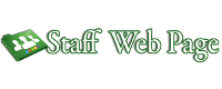 Staff Web Page - Because People Respond to People